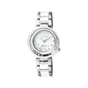 シチズン エル CITIZEN L 腕時計 CITIZEN シチズン エコ・ドライブ レギュラーライン EM0327-84A ダイヤモンド  レディース|hokindo1904