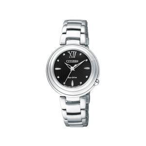 シチズン エル CITIZEN L 腕時計 CITIZEN シチズン エコ・ドライブ レギュラーライン EM0338-88E  レディース|hokindo1904