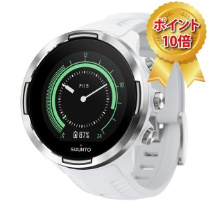 【正規取扱店】SUUNTO 9 Baro White スント 9 バロ ホワイト|hokindo1904
