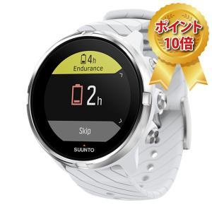 スマートウォッチ 正規取扱店 SUUNTO 9 White スント 9 ホワイト 気圧計非搭載モデル SS050143000|hokindo1904