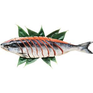 お歳暮 御歳暮 ギフト 送料無料 北海道産 新巻鮭切身2L(姿・2.4kg) / 贈り物 セット 詰め合わせ 新巻鮭 新春 紅鮭 サケ 盛り合わせ【M】|hokkaido-gourmation