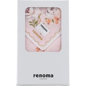 ギフト 贈り物 レノマ 婦人ハンカチ(REL05552) / ファッション小物 インテリア 新築内祝い 引越し祝い 内祝い 御祝いお返し 記念 快気祝い 誕生日|hokkaido-gourmation
