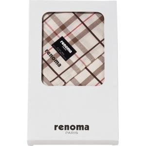 ギフト 贈り物 レノマ 紳士ハンカチ(REG05521) / ファッション小物 インテリア 新築内祝い 引越し祝い 内祝い 御祝いお返し 記念 快気祝い 誕生日|hokkaido-gourmation