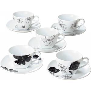 食器 ギフト 贈り物 送料無料 レノマ コーヒー碗皿5客セット(28438) / 一式 セット コップ 新築内祝い 内祝い 御祝い お返し 御挨拶 快気祝い 誕生日|hokkaido-gourmation