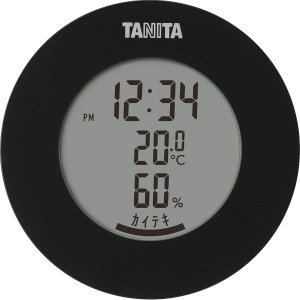 ギフト 贈り物 送料無料 タニタ 温湿度計(ブラック)(TT-570-BK) / ファッション小物 インテリア 新築内祝い 内祝い 記念 快気祝い 誕生日 プレゼント hokkaido-gourmation