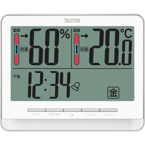 ギフト 贈り物 送料無料 タニタ デジタル温湿度計(ホワイト)(TT538WH) / ファッション小物 インテリア 新築内祝い 内祝い 記念 快気祝い 誕生日 hokkaido-gourmation