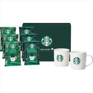 母の日 コーヒー ギフト スターバックス オリガミwithマグカップ(SBC-30S) / 母の日ギフト 2021 スタバ インスタントコーヒー メッセージカード【21m】|hokkaido-gourmation