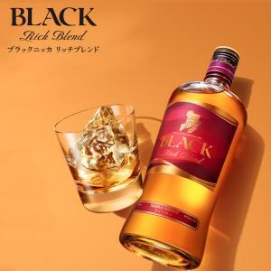 ウイスキー ニッカウィスキー ブラックニッカ リッチブレンド(700ml) お酒 ボトル ニッカウヰスキー 余市