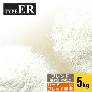 小麦粉 北海道 TYPE ER 小袋(5kg) 5キロ 北海道産 国産|hokkaido-gourmation