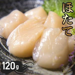 北海道オホーツク産 ホタテ貝柱(120g) 1袋 / ホタテ 帆立 ほたて 貝 二枚貝 貝柱 かいばしら 水産 魚介|hokkaido-gourmation