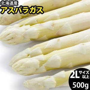 2020年ご予約承り中 4月出荷開始 送料無料 北海道産 ホワイトアスパラガス 500g (2L/3Lサイズ混合) / アスパラ 旬 野菜 産地直送|hokkaido-gourmation