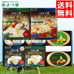 母の日 チーズ ギフト よつ葉 よつ葉の贈りもの チーズとバターの詰合せ(KT-35) / ギフトセット 贈り物 北海道 プレゼント チーズ バター 詰め合わせ|hokkaido-gourmation