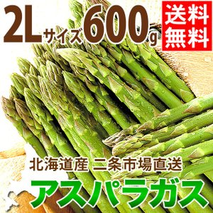 2020年ご予約承り中 4月出荷開始 北海道産 アスパラガス グリーンアスパラガス 600g 2Lサイズ / 旬 産地直送 お取り寄せ|hokkaido-gourmation