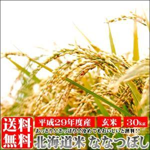 母の日 送料無料 ななつぼし 30kg / お米 玄米 北海道産|hokkaido-gourmation