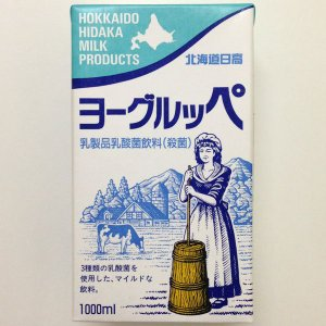北海道日高 ヨーグルッペ1000ml【乳製品乳酸菌飲料(殺菌)】|hokkaido-loco