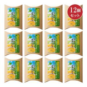 北海道サロマ産えびすかぼちゃで作ったパンプキンポタージュ4袋入り×12個セット【送料無料+代引き・後払い手数料無料】|hokkaido-loco