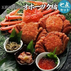 お中元 御中元 ギフト 五彩海鮮福袋オホーツク編 グルメ福袋...