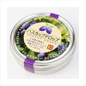 ハスカップドロップ10粒入り   北海道 限定 お土産 土産 みやげ お菓子 ギフトプレゼント|hokkaido-okada
