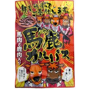 江戸屋 馬鹿カルパス 限定 お土産 土産 みやげ お菓子 珍味 おつまみ 鹿肉 馬肉 サラミ|hokkaido-okada