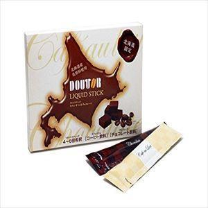 ドトールリキッドスティックカフェオレ&チョコレート6本入り×2個セット hokkaido-okada