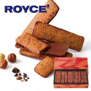 ロイズ ROYCE バトンクッキーヘーゼルカカオ 25枚入
