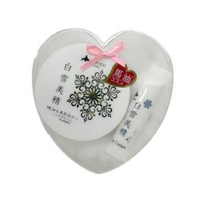 Coroku 小六 北海道 お土産 ハートギフトセット 白雪美精ハンドクリーム30g&リップクリーム4g お取り寄せ プレゼント 贈り物 hokkaido-shinhakken