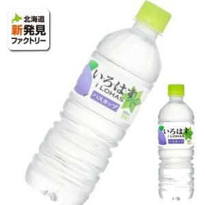ドリンク ミネラルウォーター いろはす 北海道 お土産 ハスカップ コカコーラ 555ml お取り寄せ プレゼント 贈り物 hokkaido-shinhakken
