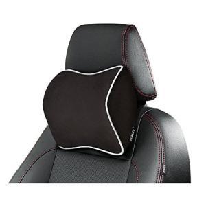 ネックパッド クッション 車 首 ヘッドレスト 運転 低反発 車用品 旅行 ドライブ 人体力学に基づ...