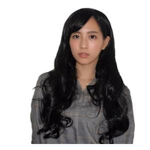 ロング ウィッグ ネット 付き フルウィック 耐熱 サイズ 調整 カール ゆるふわ レディース 黒(ブラック)の商品画像|ナビ