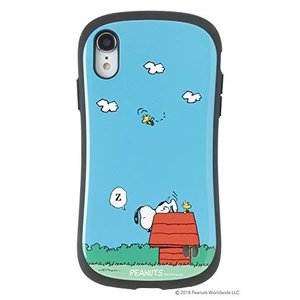 iFace First Class スヌーピー PEANUTS iPhone XR ケース [犬小屋...