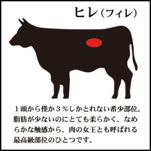 神内和牛あか ステーキ ヒレステーキ 5枚入り 600g 送料無料 工場直送|hokkaidogb|04