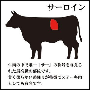 神内和牛あか ステーキ サーロインステーキ 2枚入り 360g 送料無料 工場直送|hokkaidogb|04