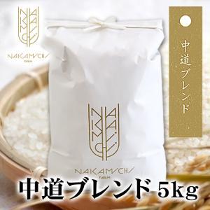30年度産 北海道米中道ブレンド 5kg (「きたくりん」と「あやひめ」をオリジナルブレンド) お取り寄せ 北海道 お土産|hokkaidogb
