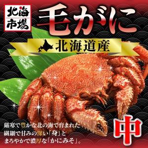 北海道産 毛がに (440g前後)|hokkaiichibasapporo