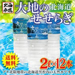 【送料無料】北海道 大地のせせらぎ 2リットル×12本|hokkaiichibasapporo