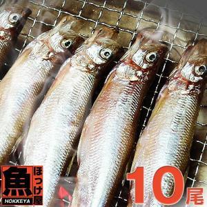 北海道(広尾産)ししゃも オスメス 込み 10尾 【本ししゃも】|hokkeya