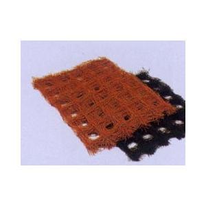 フラワーネット 農業資材 撚糸 茶色10cm 7目100m  hokuetsunoji-shop