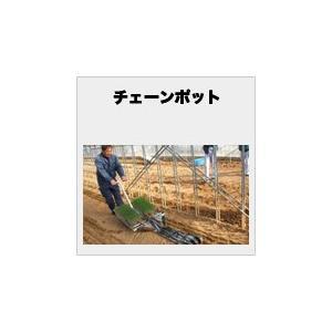 チェーンポット ニッテン CP-303 3x3cm 264穴 hokuetsunoji-shop