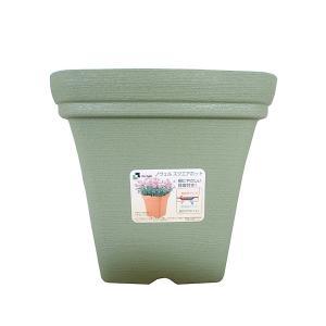 植木鉢 ノヴェルスクエアポット リッチェル 20型 グリーン|hokuetsunoji-shop
