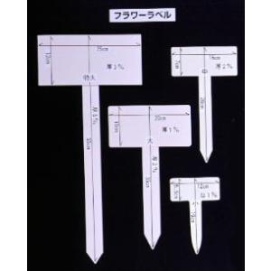 フラワーラベル 大阪浪花園芸  小(5.5x12)x19cm