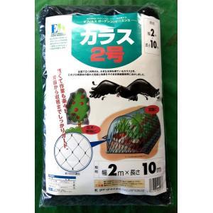 防鳥網 クラーク カラス2号 2×10m hokuetsunoji-shop