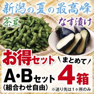 送料無料 新潟県黒埼地方の枝豆使用。限定500食 お得セット (A・Bセットまとめて4つ)|hokuetsunoji-shop