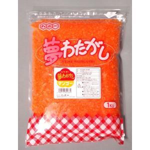 夢カラーさとう 1kg マンゴー 色・香り・味付き hokulea