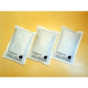 化学物質吸着 天然素材 消臭 パックタイプ 3個入り 自然由来 無香 特許取得 においとるぞうクン|hokumahstore