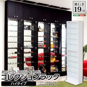 壁面収納 コレクションラック 浅型ハイタイプ|hokuo-lukit