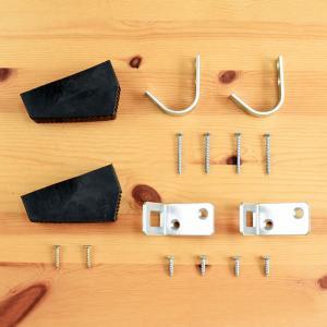 【北欧ラダー用】ロフトはしご金具セット 梯子 ハシゴ 階段 ベッド 壁収納|hokuo-no-mori