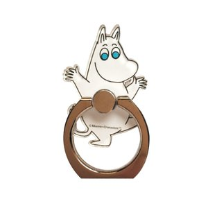 Moomin ムーミン スマートフォン用ホルダーリング ムー...