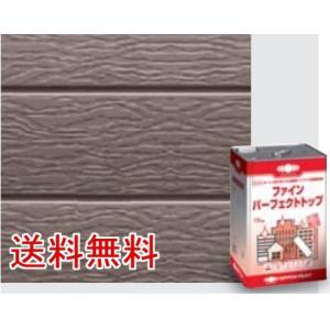 日本ペイント ニッペ ファインパーフェクトトップ ホワイトつや有 15kg