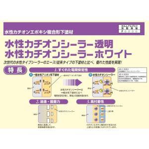 ニッペ水性カチオンシーラー透明 ホワイト各色15kg 日本ペイント