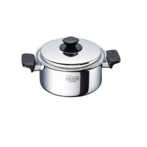 クリナップ水回り部品 調理道具 IH対応:深型両手鍋(19cm/3.0L)(AD-KZ11C)|hokusei2